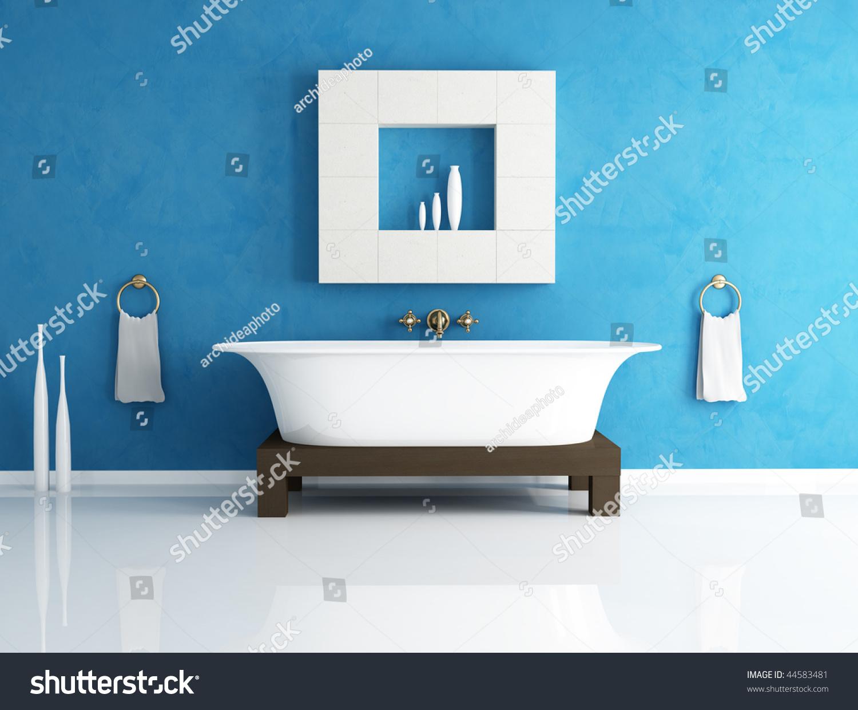 stock-photo-retro-bathtub-in-a-modern-bathroom-44583481