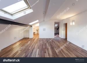 stock-photo-interior-nice-loft-wall-white-parquet-floor-166099589