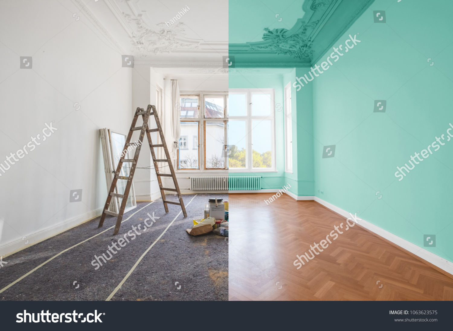 stock-photo-renovation-concept-room-before-and-after-renovation-1063623575